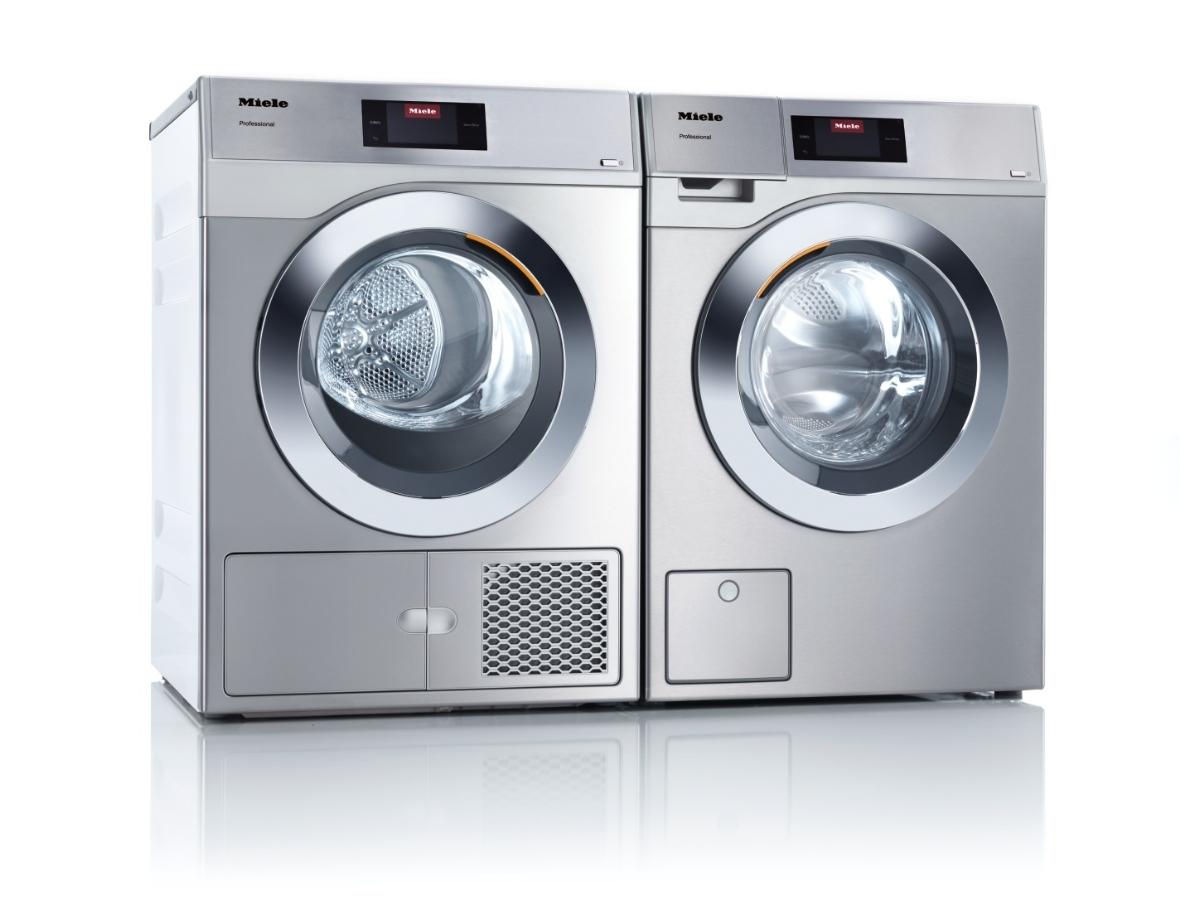 Miele Professional PDR 507 [HP] RVS warmtepomp droogautomaat